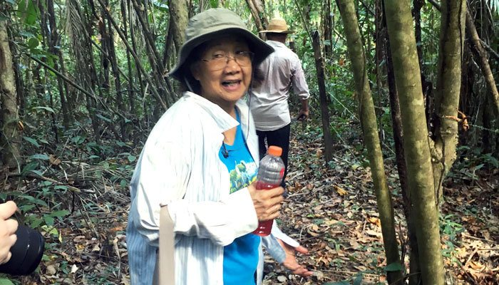 Sister Joji Fenix provides an ecological tour of her ministry in Panama.