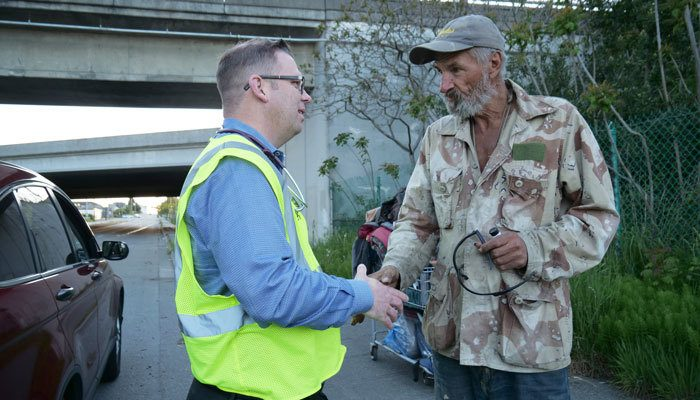 The MercyWatch project helps the homeless population in Everett, Washington.